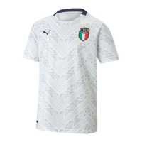 Italy Soccer Jersey Away (Player Version) 2021