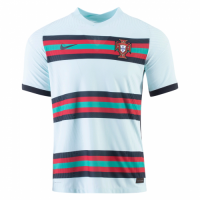 Portugal Soccer Jersey Away Replica 2021