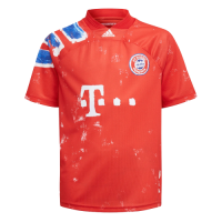 Bayern Munich Human Race Red Soccer Jerseys Shirt