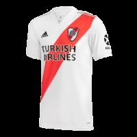 20/21 River Plate Home White Jerseys Shirt