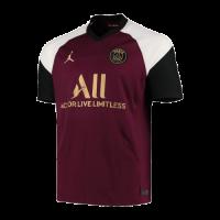 20/21 PSG Third Away Dark Red Soccer Jerseys Shirt(Player Version)