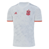 Spain Soccer Jersey Away (Player Version) 2020