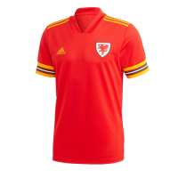 2020 Wales Home Red Soccer Jerseys Shirt(Player Version)