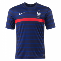 2020 France Home Blue Soccer Jerseys Shirt(Player Version)