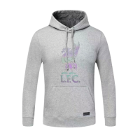 20/21 Liverpool Gray Hoody Sweater