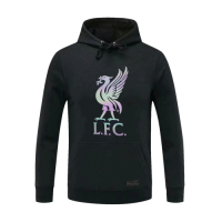 20/21 Liverpool Black Hoody Sweater
