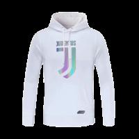 20/21 Juventus White Hoody Sweater