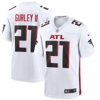 Men's Atlanta Falcons Todd Gurley II #21 Nike Game Jersey - White