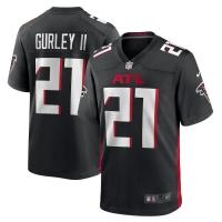 Men's Atlanta Falcons Todd Gurley II #21 Nike Game Jersey - Black