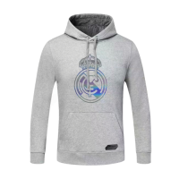 20/21 Real Madrid Gray Hoody Sweater