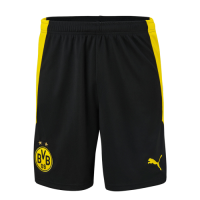 20/21 Borussia Dortmund Home Black&Yellow Jerseys Short