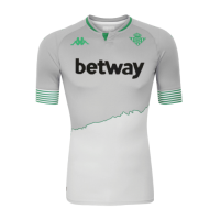 20/21 Real Betis Third Away Gray Soccer Jerseys Shirt