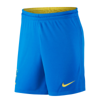 2020 Brazil Home Blue Jerseys Short