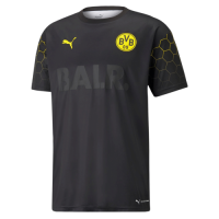 Borussia Dortmund X BALR Signature Black Soccer Jerseys Shirt