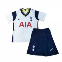 20/21 Tottenham Hotspur Home White Children's Jerseys Kit(Shirt+Short)