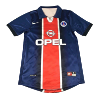 98/99 PSG Home Navy Retro Soccer Jerseys Shirt