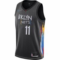 Men's Brooklyn Nets Kyrie Irving #11 Nike Black 2020/21 Swingman Player Jersey – City Edition