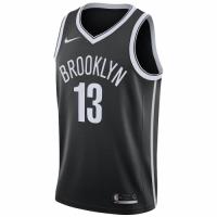 Men's Brooklyn Nets James Harden #13 Nike Black 2020/21 Swingman Jersey - Icon Edition
