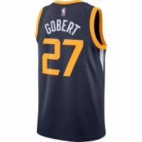 Men's Utah Jazz Rudy Gobert No.27 Nike Navy Replica Swingman Jersey - Icon Edition