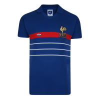 France Retro Soccer Jersey Home Replica 1984
