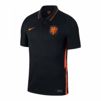 Netherlands Soccer Jersey Away (Player Version) 2020