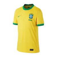2021 Brazil Home Yellow Soccer Jerseys Shirt