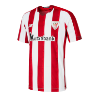 20/21 Athletic Bilbao Home Red&White Jerseys Shirt