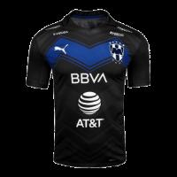 20/21 Monterrey Third Away Black Soccer Jerseys Shirt