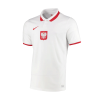 Poland Soccer Jersey Home Replica 2021