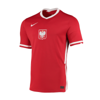 Poland Soccer Jesrey Away Replica 2021