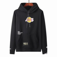 Men's Aape x LA Lakers Black Hoodie