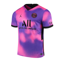 20/21 PSG Fourth Away Purple Soccer Jerseys Shirt
