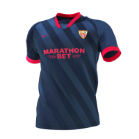 20/21 Sevilla Third Away Navy Soccer Jerseys Shirt