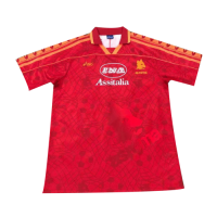 95/96 Roma Home Red Soccer Retro Jerseys Shirt
