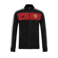 20/21 Manchester United Black High Neck Collar Training Jacket