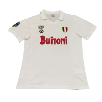 Napoli Retro Soccer Jersey Away Replica 1987/88