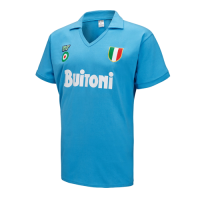 87/88 Napoli Home Blue Retro Soccer Jerseys Shirt