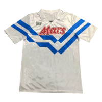 Napoli Retro Soccer Jersey Away Replica 1988/89