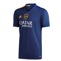 20/21 Boca Juniors Fourth Away Blue Soccer Jerseys Shirt