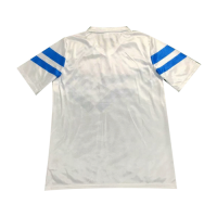 88/89 Napoli Away White Retro Soccer Jerseys Shirt