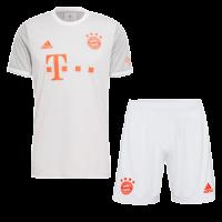 Bayern Munich Soccer Jersey Away Kit (Shirt+Short) Replica 2020/21
