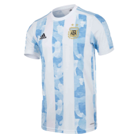 Argentina Soccer Jersey Home Replica 2021