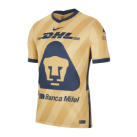 2021 UNAM Pumas Third Away Golden Soccer Jerseys Shirt