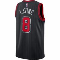 Men's Chicago Bulls Zach LaVine #8 Jordan Brand Black 2020/21 Swingman Jersey - Statement Edition