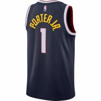 Men's Denver Nuggets Michael Porter Jr. #1 Nike Navy 2020/21 Swingman Jersey – Icon Edition