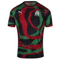 20/21 Marseille Puma And OM Unveil OM Africa Black&Red Soccer Jersey Shirt