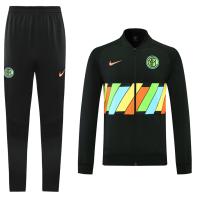 20/21 Inter Milan Black Player Version Training Kit(Jacket+Trouser)