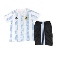 Argentina Kids Soccer Jersey Home Kit (Shirt+Short) 2021