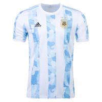 2021 Argentina Home Soccer Jersey Shirt(Player Version)