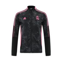 20/21 Real Madrid Black&Pink High Neck Collar Training Jacket